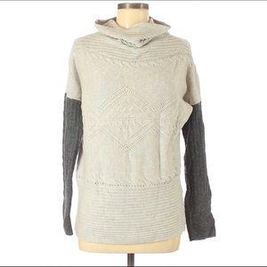 Anthropologie SI IAE Wool Sweater Size M